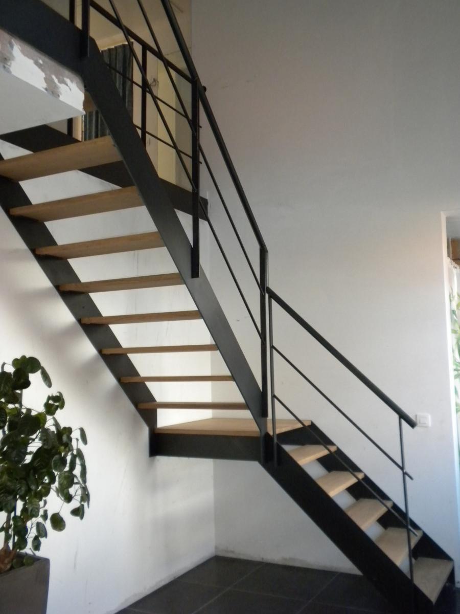 trappen verbeeren metaalwerken